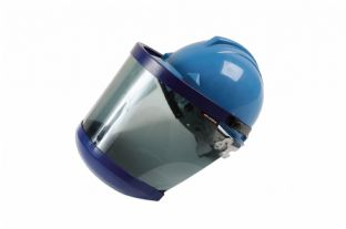 Laser 7492 Arc Flash Shield with Helmet and Chin Protection